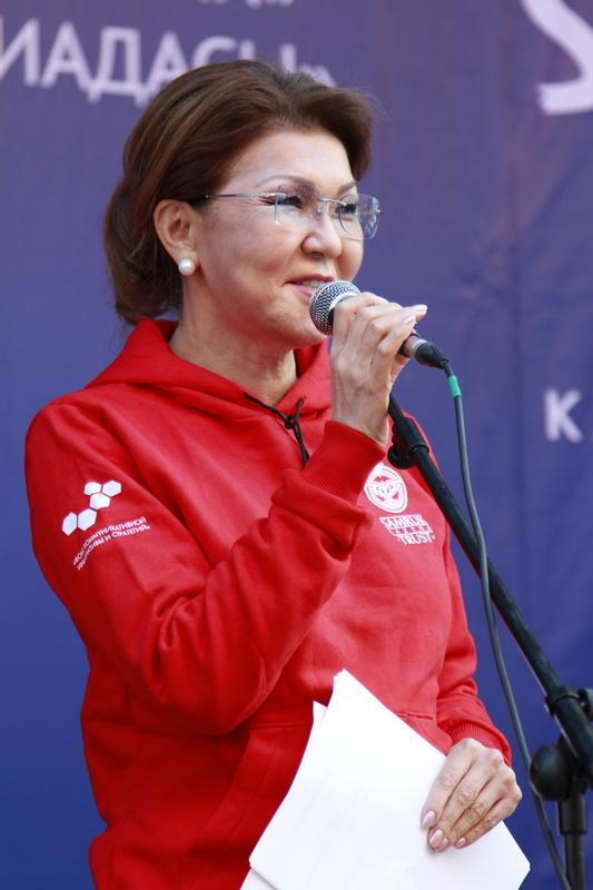 Дарига Назарбаева на SportFEST Kazakhstan