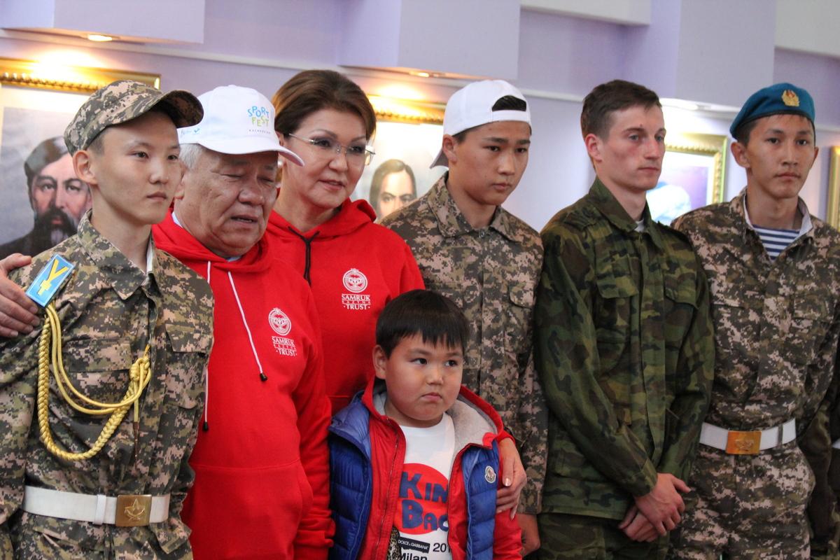 Открытие финала SportFEST Kazakhstan