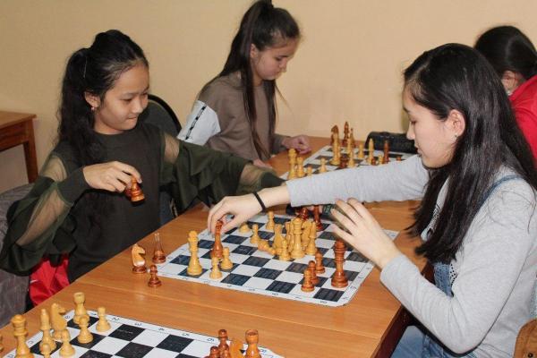 Юные спортсмены Шымкента