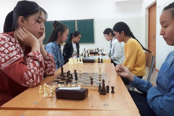 Школьники Кызылорды SportFEST Kazakhstan