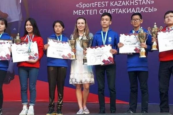 Павлодарлық оқушылар SportFest Kazakhstan