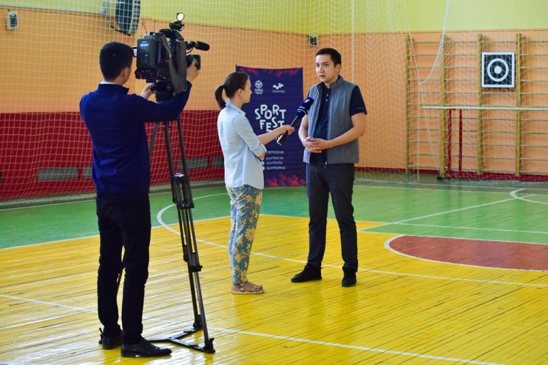 Нұр-Султан оқушылары SportFEST