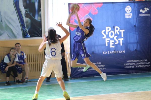 Школьники Туркестанской области SportFEST